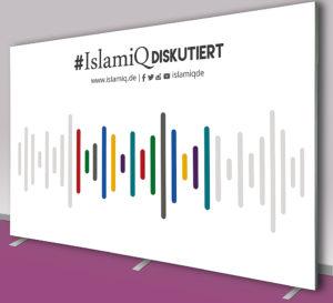 Pressewand Islamiq 400 x 270 cm