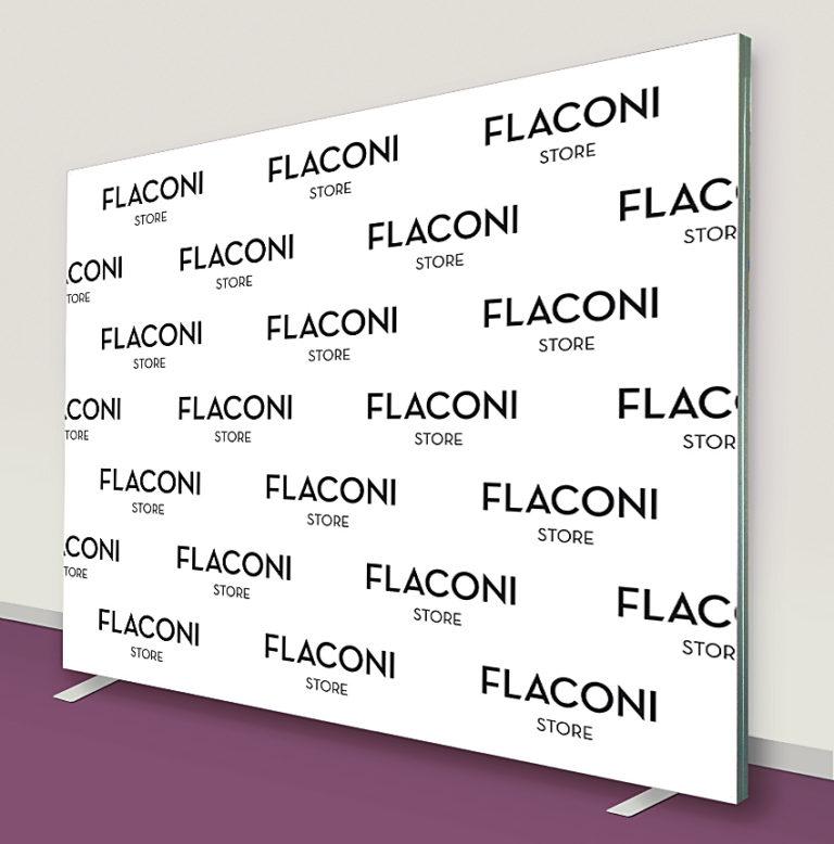Sponsorenwand Flaconi 300 x 250 cm
