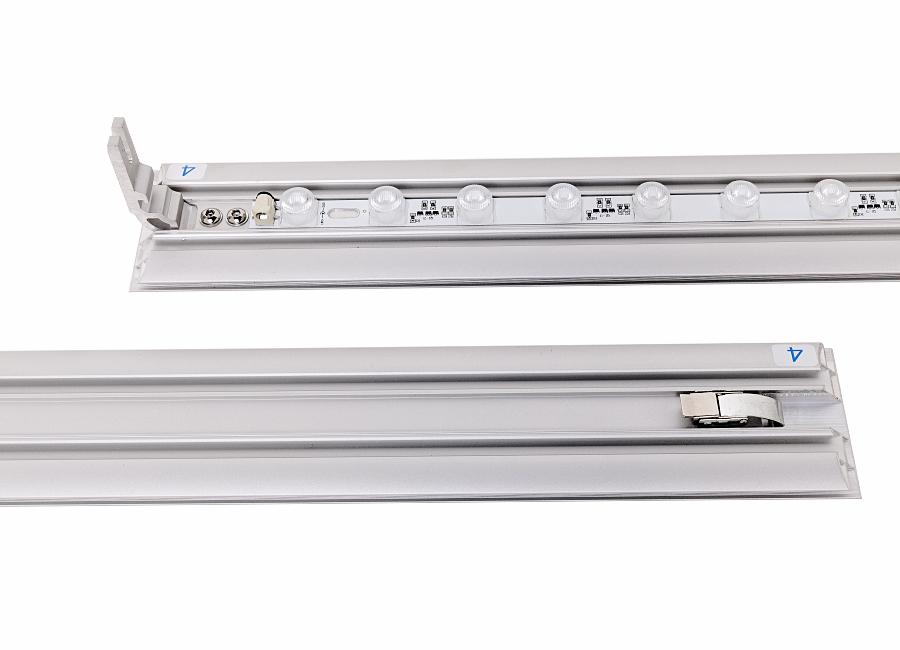 LED Banner Stand Profile 100 mm mit Magnetverbindern